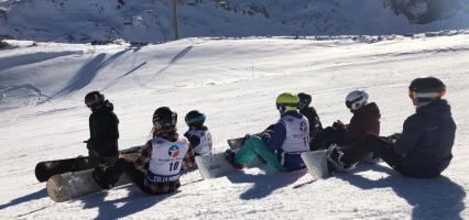 COURSE DES MONGES – SNOWBOARD
