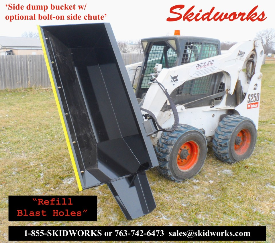 blasthole bucket, demolition, blasting company