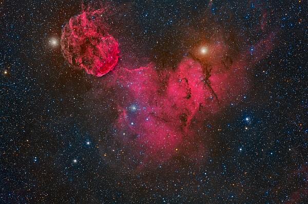 IC 443 - Skies by Africa