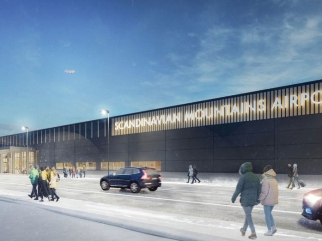 Scandinavian Mountains Airport bliver klar til december
