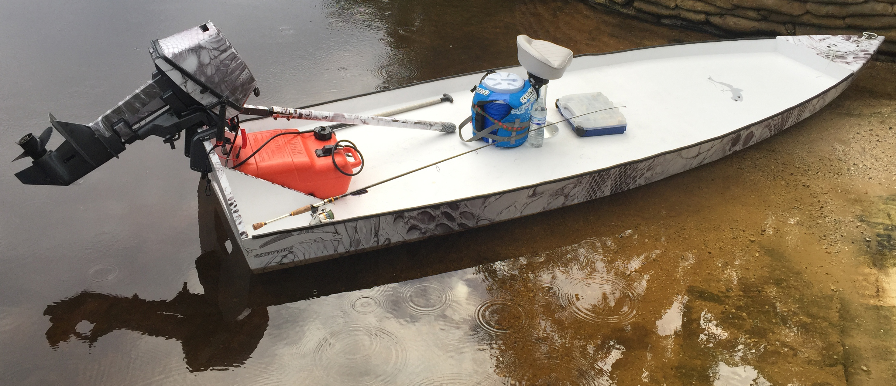 SkiffLife's SK14 Build, the latest from the Skiff Forge.