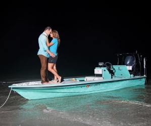 Put a ring on it?  Nah, put a skiff on it!