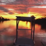 Skiff Sunrise with Grassy Flats Charters