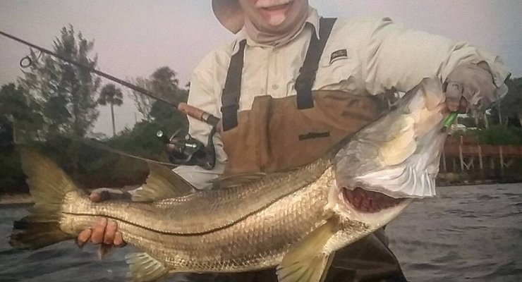 Snook & Redfish charters, Indian River Lagoon