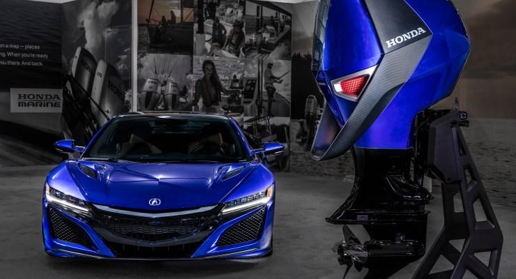 Honda Marine Design Concept_Acura NSX 2017