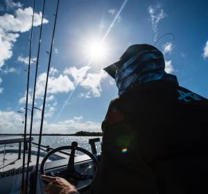 Searchin for the silver king in the Silver King #tarpon #fishing #swfl #silverki…