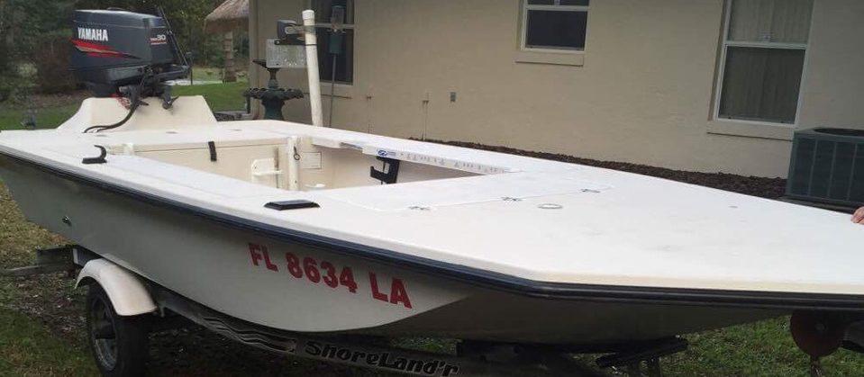 Original Pathfinder Skiff Boat