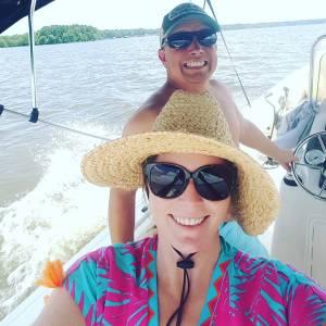 Carolina Skiff – cruising with the captain   …