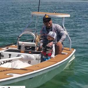 Nothing but family fun when you spend your day on the water. Get your grip on.  …