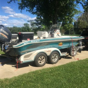 """We begin """"LSC: Ch 2"""" after I get her cleaned up.  Hauled it all the way to Kodia…"""