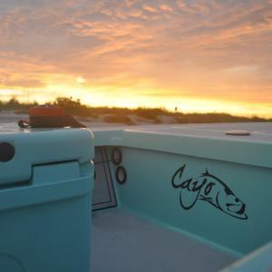 Cayo Skiff night fishing!