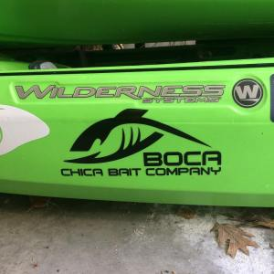 Boca Chica decals sure look good on a yak!  – – –  …