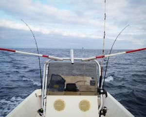 Fun trolling for blackfin tuna in the skiff today! . . . .  …