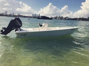 Running around Miami Beach today 🦈            …