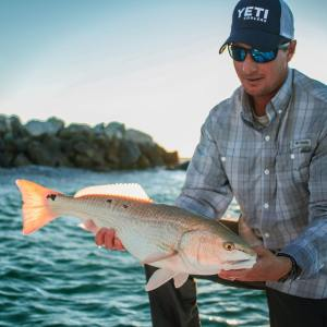 The weather is cooling off, but the redfish bite is still red hot. :  . . .  …