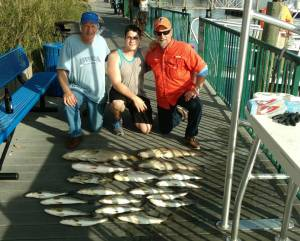 Carolina Skiff – Great day with the boys with multiple species….
