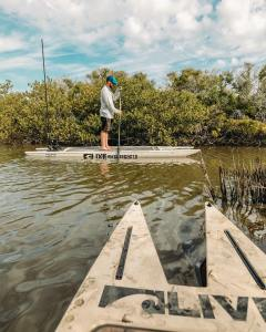 Finding the fish isn't always easy. Sometimes it takes having to fight foul weat…