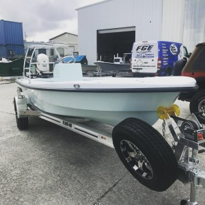 Stopped by the   factory today and got to check out the first Heron 18! Will be …