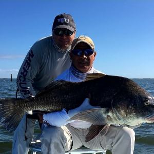 Venice LA bull reds with Capt. Andy