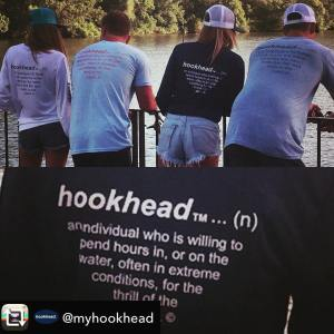 Repost from  using  – Our o.g hookhead crew… thank you for a great day on the …