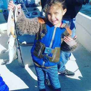 This little girl really taught me how to catch trout in the cold and wind. Don't…