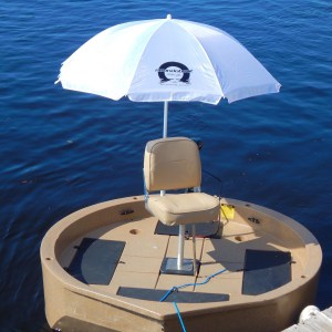 Umbrella is now available for the Roundabout!  You can fish comfortably with no …