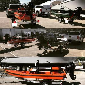 2 More H:Skiffs going home with their new owners! H:SKIFF…The Ultimate Skiff!!…