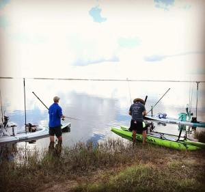 Fall bite is on! No better time to get outfitted with a new SUP Fishing setup! F…