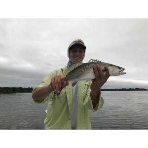 Got into some speckled trout action this weekend                     …