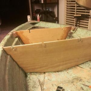 Last bulkhead Glued + snug like a glove    …