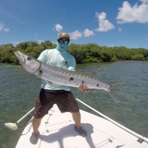 Big cuda in Key West,     …
