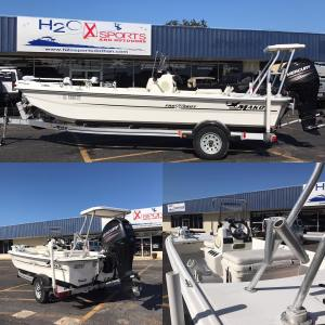 Great trade right here!! 2013 Mako Pro Skiff 17 w/60hp mercury.  Priced to sell …