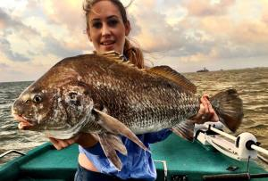 Big Ugly! Not the wife, but the black drum!                      …