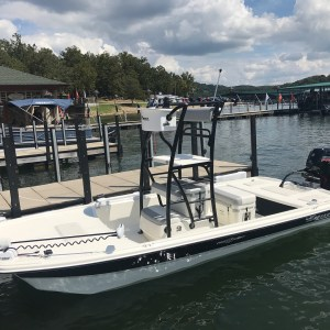The Mako Pro Skiff 19 with available top drive option.  The perfect upgrade for …