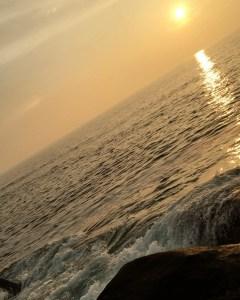 Water flows, wind doesn't blow     …