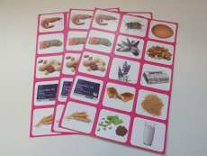 Allergy cards - Set of 3 for Anaphylaxis Training