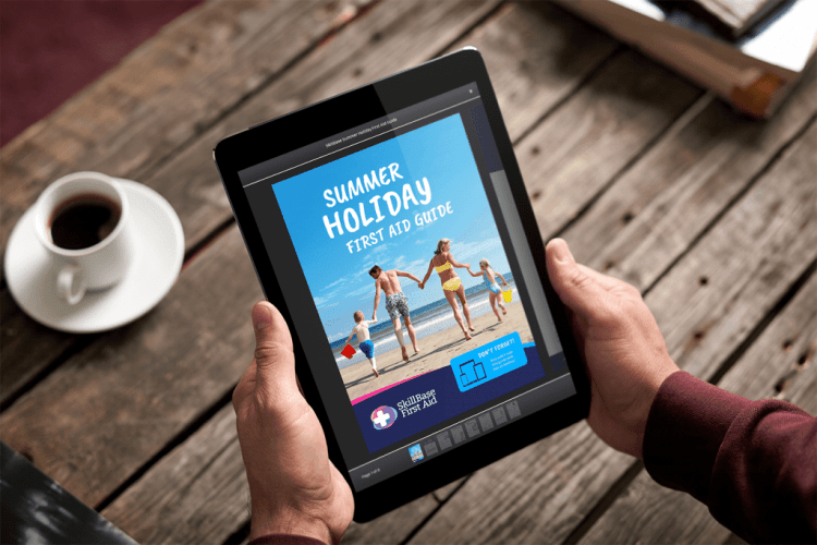 SkillBase First Aid Free Summer Holiday First Aid Guide
