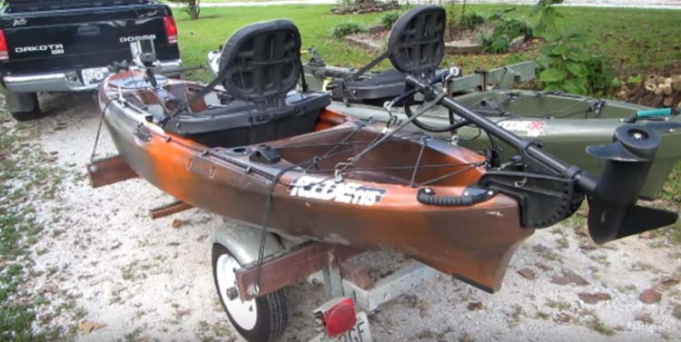 Can I Put A Trolling Motor On Kayak