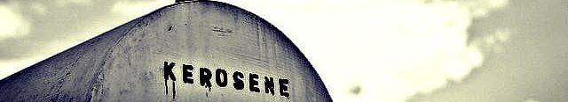 kerosene bulk storage tank