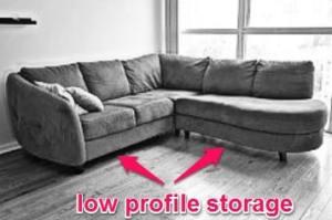 Under Couch Food Storage