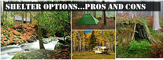 Shelter Options pros cons