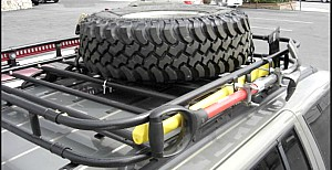 Full Spare Tire Roof Rack