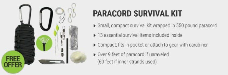 survival frog paracord grenade