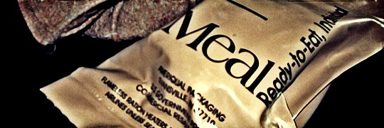 mre's for food stockpile