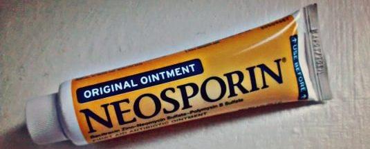 neosporin tube