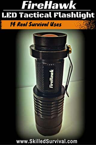 FireHawk Tactical Flashlight