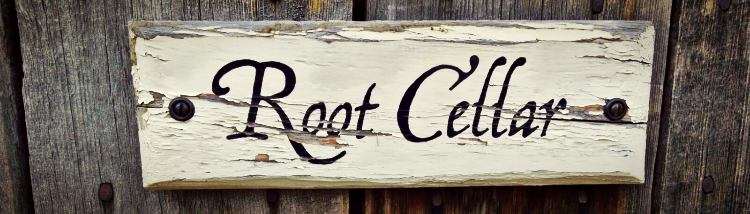 Root Cellar Sign