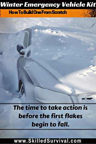 Winter Emergency Vehicle Kit