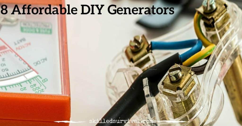 8 Affordable Diy Generators Your Electric Company Despises