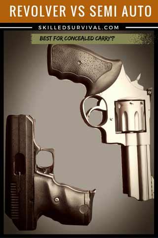 Revolver vs Semi Auto